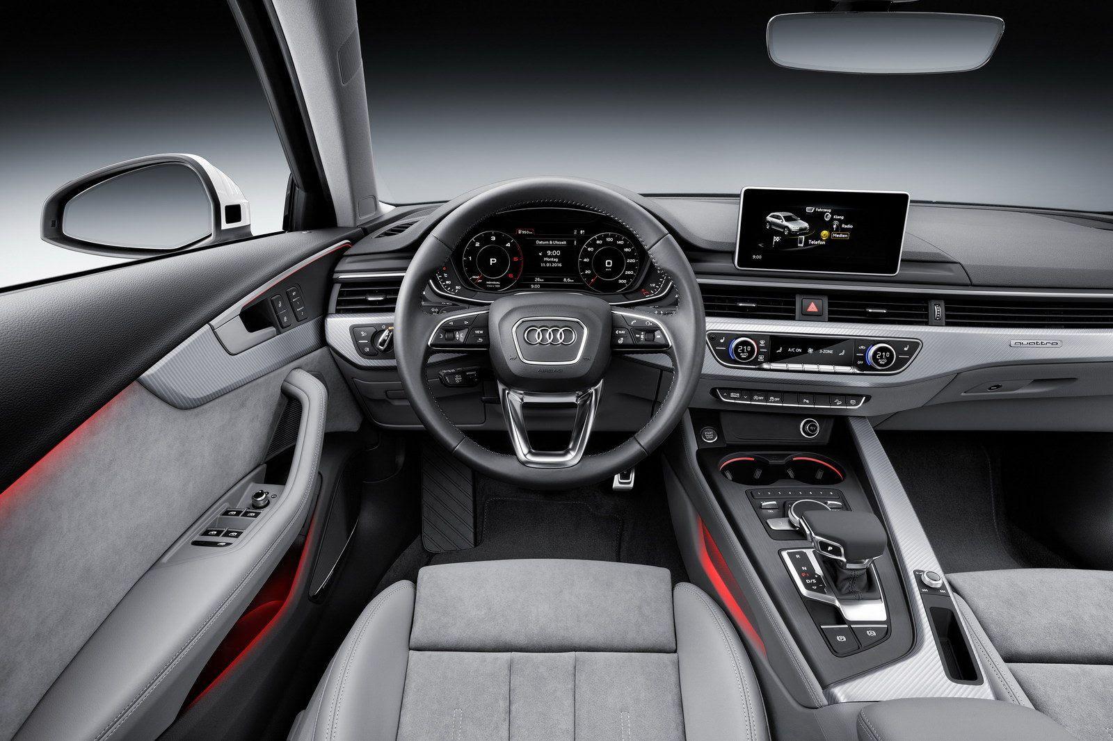 Hasil gambar untuk Audi A4 Allroad 2017 interior