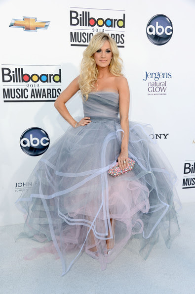 Carrie Underwood Singer Carrie Underwood arrives at the 2012 Billboard Music Awards held at the MGM Grand Garden Arena on May 20, 2012 in Las Vegas, Nevada.