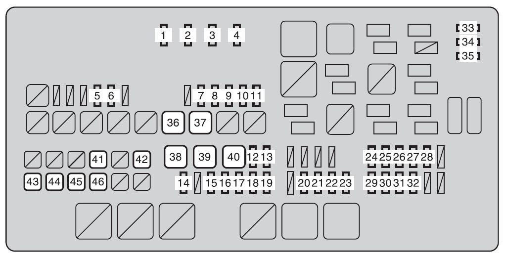 Toyota Tundra 2010 Fuse Box Diagram Auto Genius