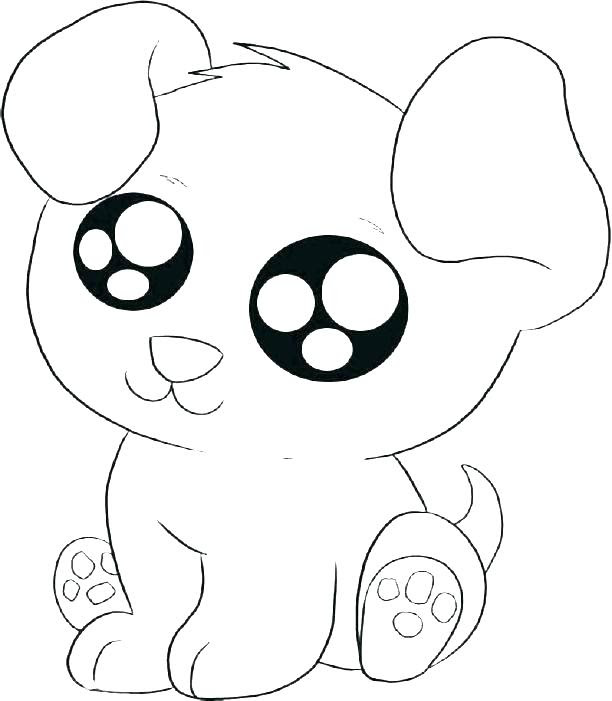 Cute Dog Coloring Pages For Adults Cuteanimals