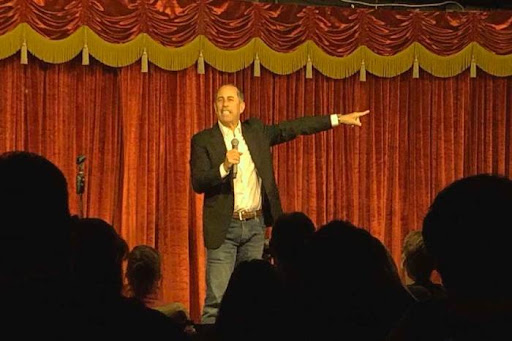 Avatar of Jerry Seinfeld drops into Brad Garrett's Comedy Club in Las Vegas