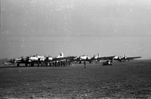 Planes lined up for mission 69 02