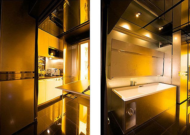 Sliding doors: The amazing Hong Kong apartment that can transform ...