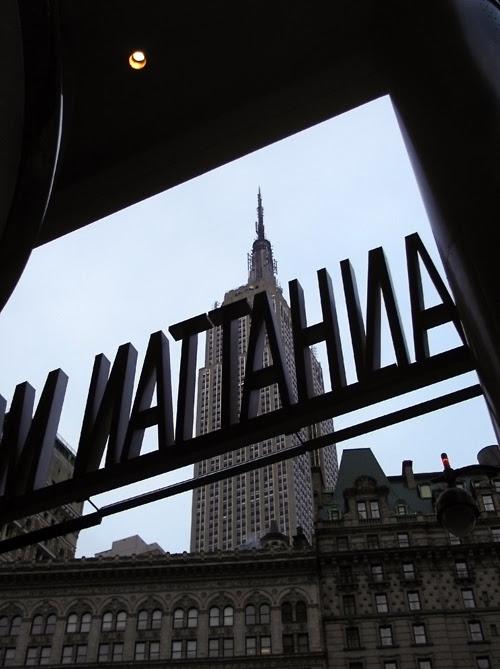 Empire State Building via Manhattan Mall