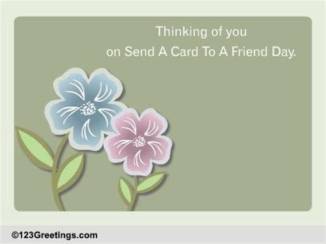 Friendship Is Beautiful  Free Send a Card to a Friend