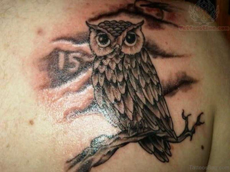 77 Best Owl Tattoo On Shoulder