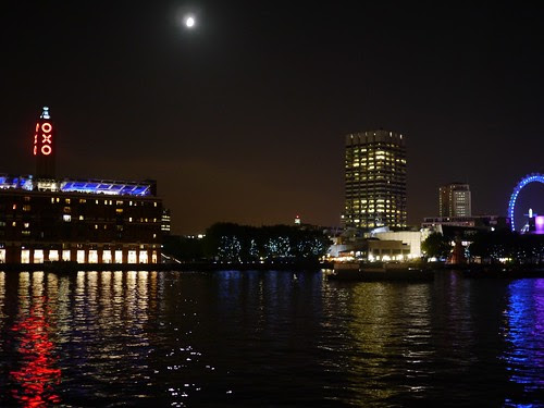 Night Thames And OXO
