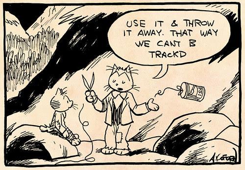 Laugh-Out-Loud Cats #2032 by Ape Lad