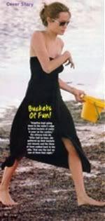 Angelina Jolie wearing Lotta Stensson