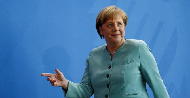 La canciller alemana, Angela Merkel. - REUTERS