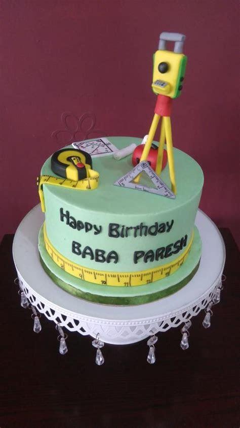 Happy Birthday Mr. Surveyor   cake by Vijeta   CakesDecor