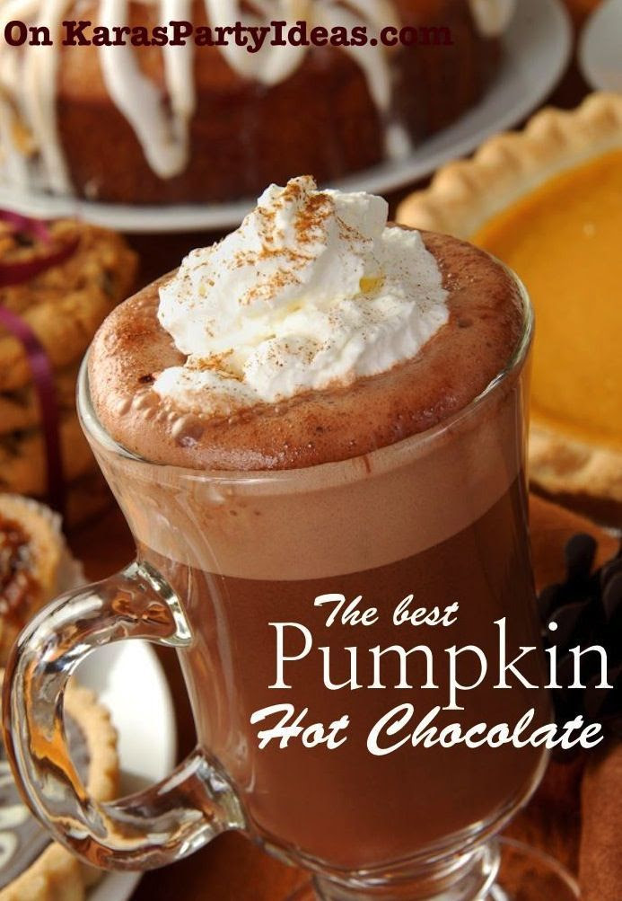 The best PUMPKIN HOT CHOC!!!.