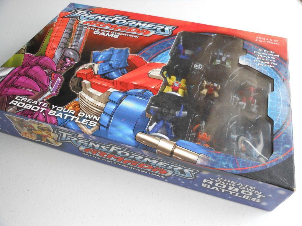 Transformers Armada box