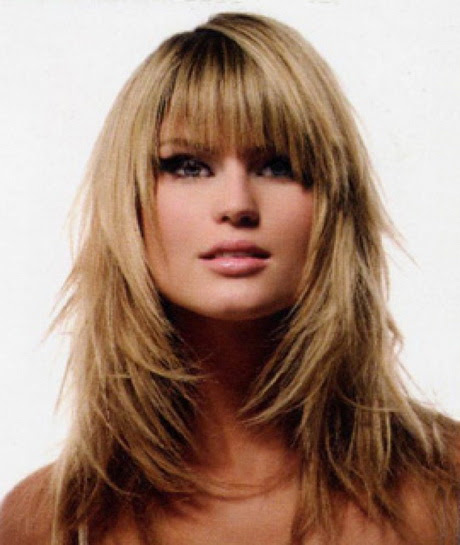 Choppy layered hairstyles for long hair