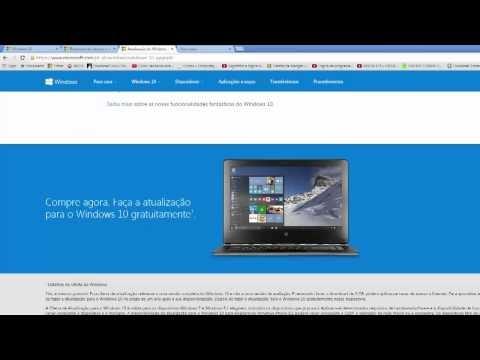 Baixando o Windows 10