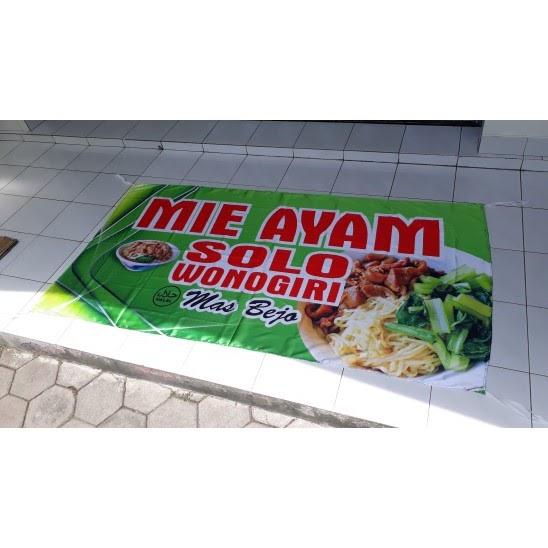 Desain Banner Mie Ayam - contoh desain spanduk