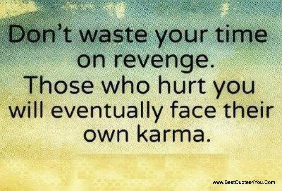 Donu002639t Waste Your Time On Revenge Quotes Pinterest 12 Quotes