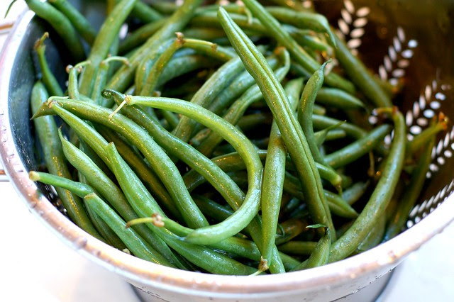 Green beans by Eve Fox, Garden of Eating blog, copyright 2012