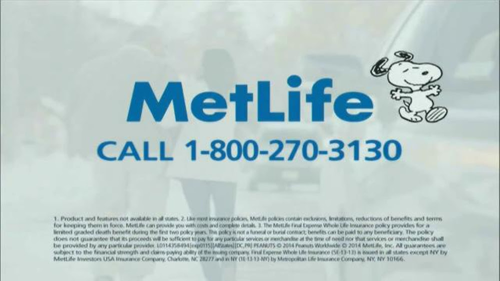 You may want to read this about Metlife Final Expense ...