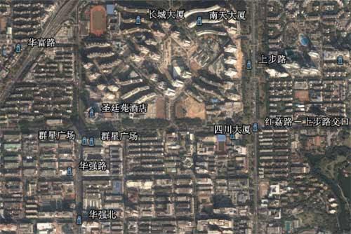 Google Earth中文地标