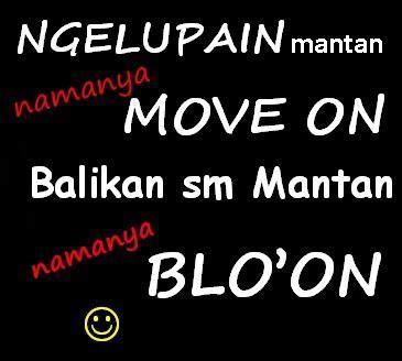 koleksi gambar kata move   dp bbm  melupakan