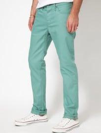 Levis Commuter Trousers 511 Slim Fit 5 Pkt Coloured