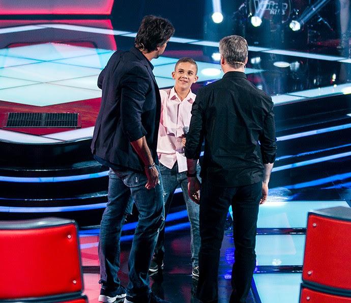 Elizaldo Alves é aprovado por Victor & Leo em terceira tarde de Audições (Foto: Isabella Pinheiro/Gshow)