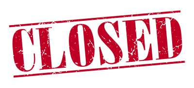 Image result for closed down