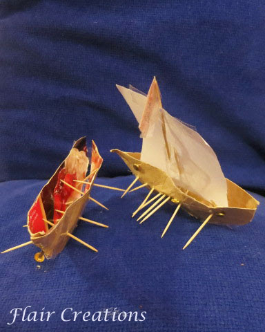 Boats from junk