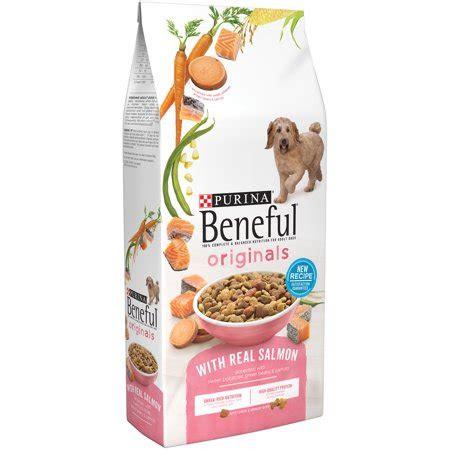 purina beneful originals  real salmon dry dog food