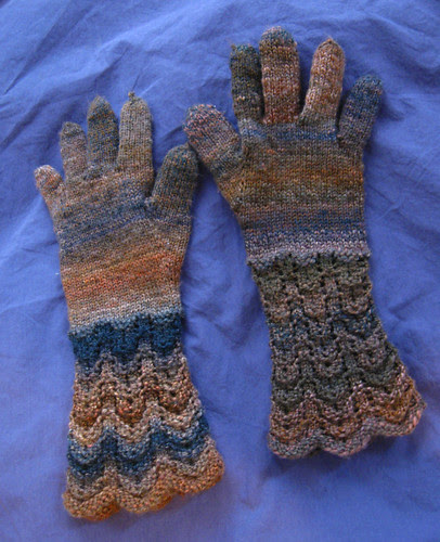 Woolen Gloves from Knitting Classic Style