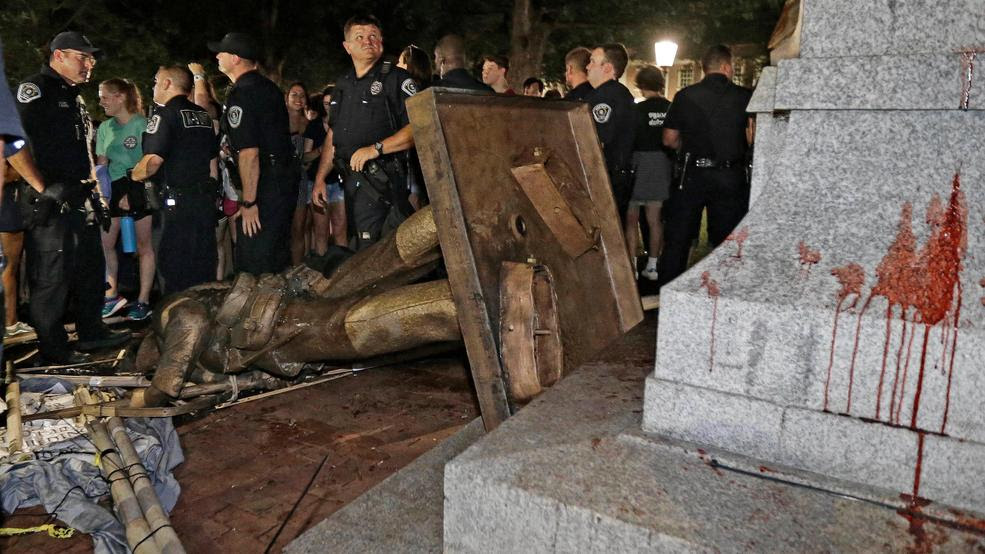Image result for UNC CHANCELLOR AND BOARD WANTED POLICE TO STAND DOWN