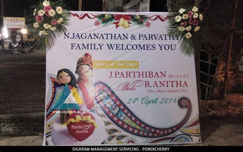 Name Board Design « SIGARAM WEDDING DECORATORS