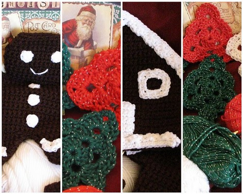 Mosaic Crochet Christmas