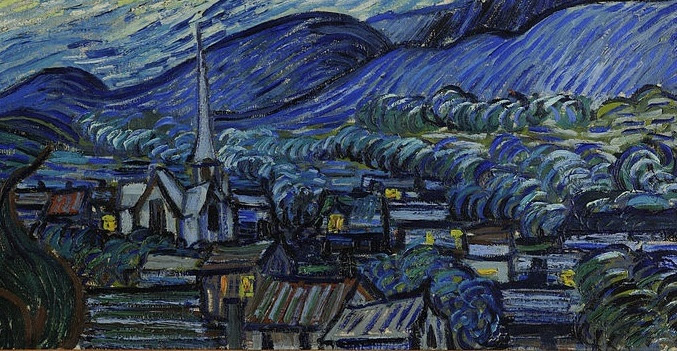 Canvassing The Masterpieces The Starry Night By Vincent Van