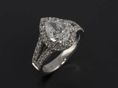 Pear Cut, Marquise Cut and Heart Cut Diamond Engagement