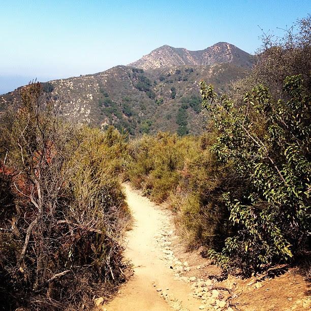 Day204 8mile hike today in Santa Barbara #california 7.23.13 #jessie365