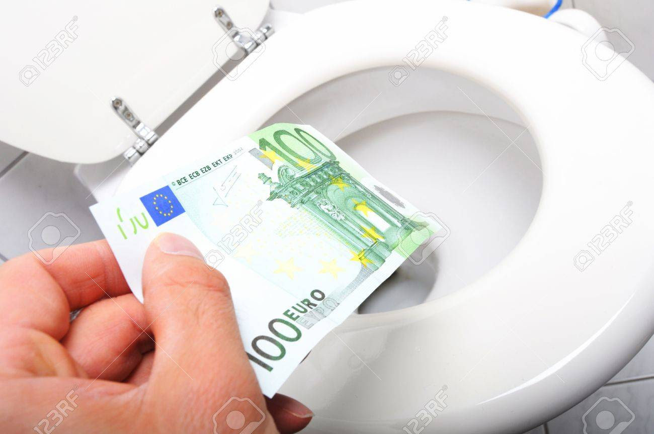 Image result for wasted money euros