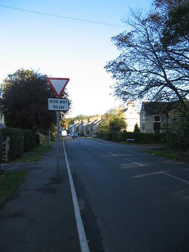 The road through Histon