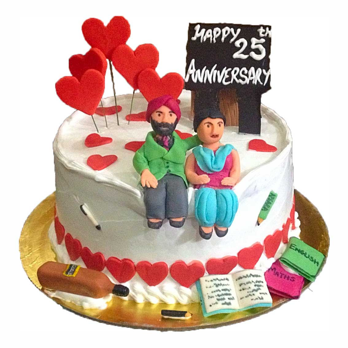 Marriage Anniversary Cake Grill To Chill