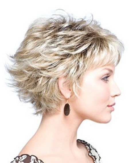 Shoulder Length Thick Hair Short Layered Haircuts 92