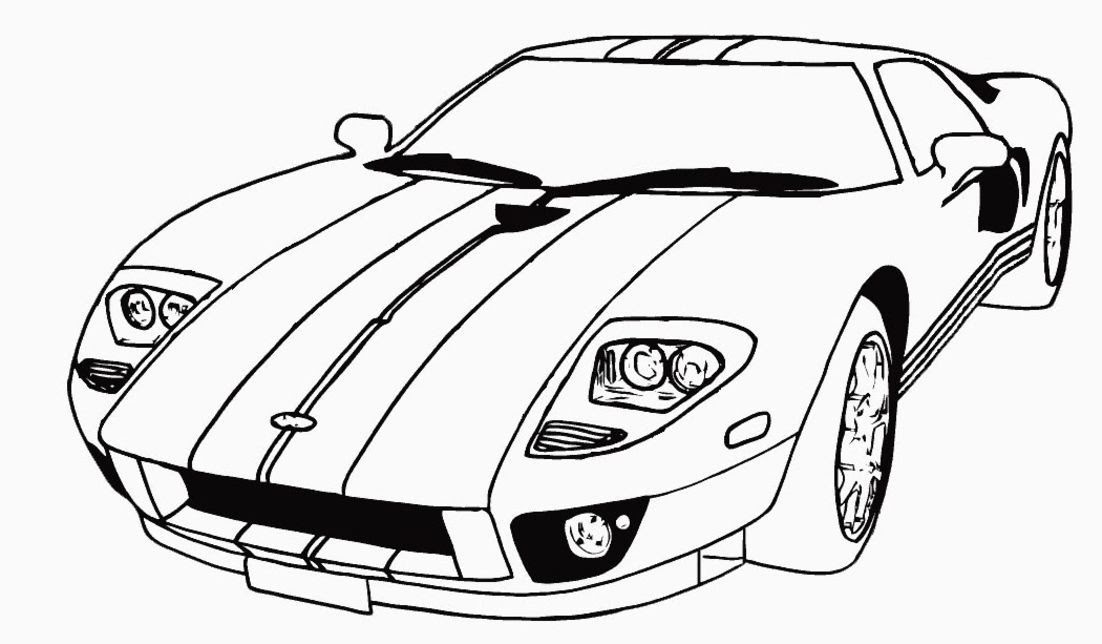 Coloring Pages Cars Trucks  Coloring Home