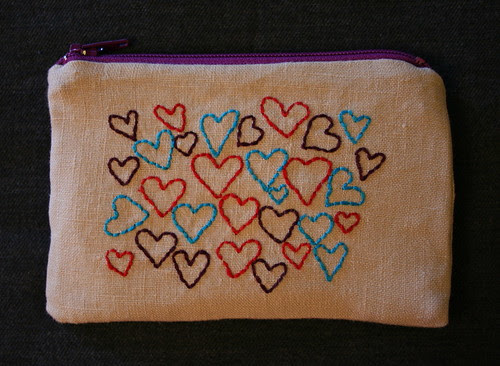 Recycled Linen Pouch