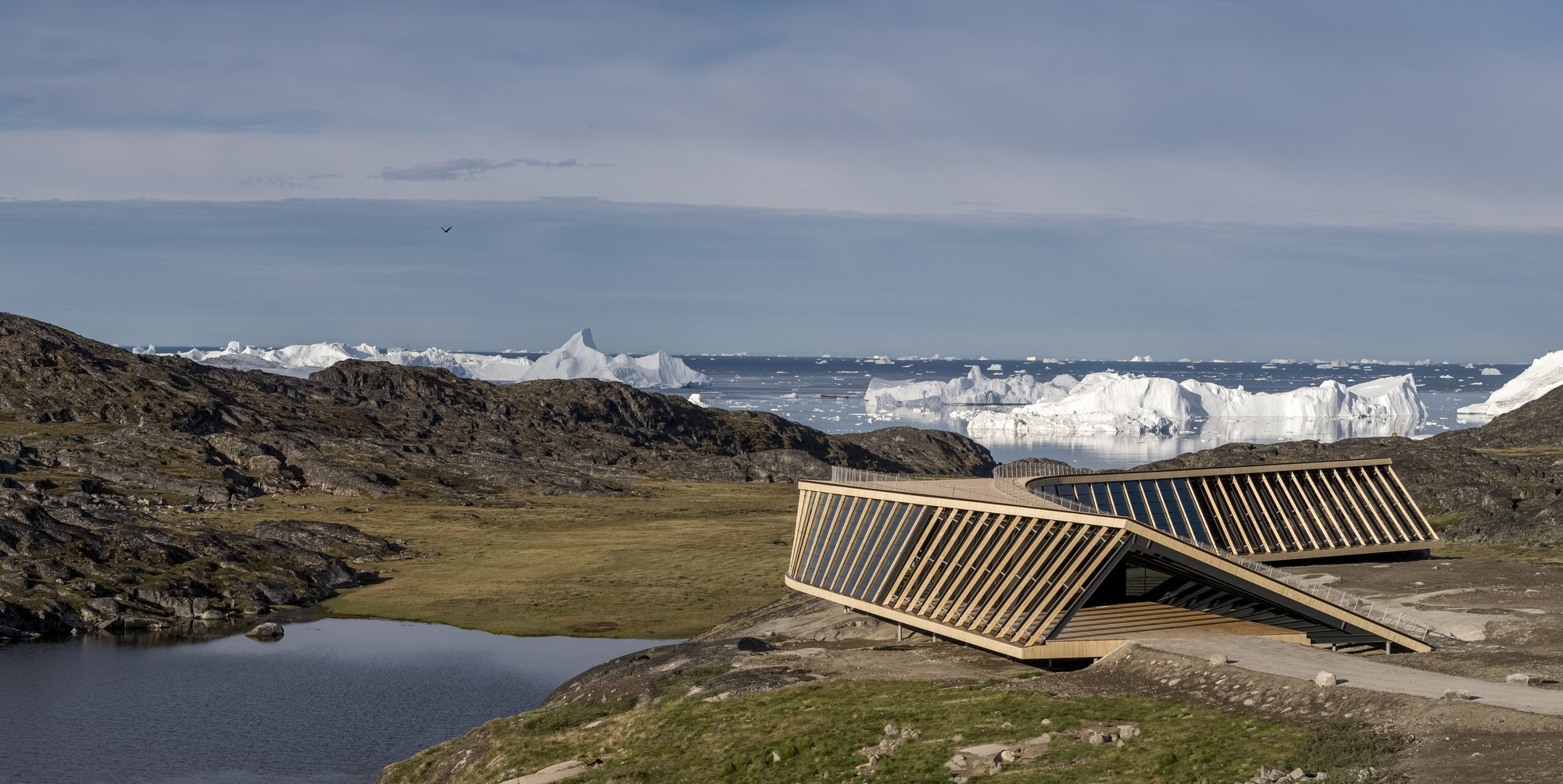 Dorte Mandrup Arkitekter Reveals Climate Research and Visitor Center in Greenland