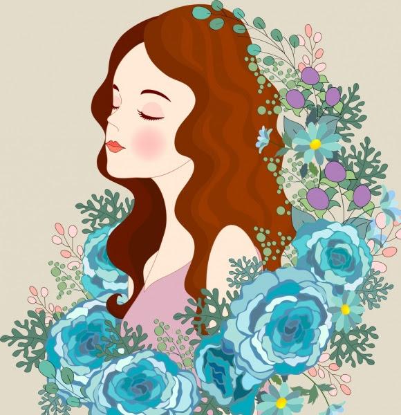 72+ Gambar Gambar Kartun Wanita Cantik Gratis