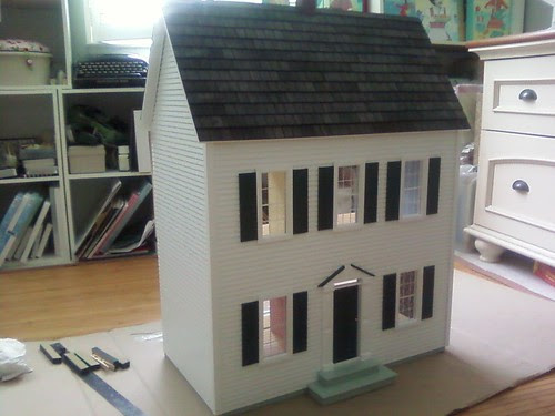 Dollhouse is all put together!