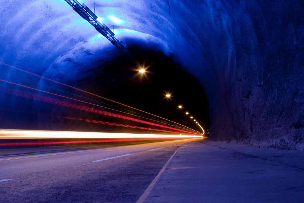 Lærdal Tunnel: o maior túnel rodoviário do mundo 05