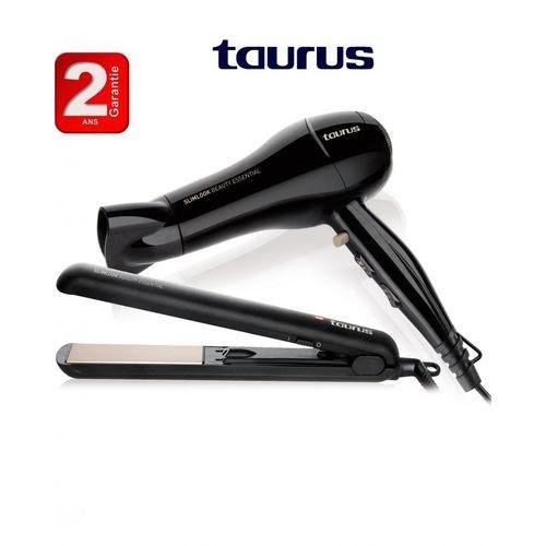 Taurus Pack Beauty Essential –sèche-cheveux avec lisseur -2ans de garantie