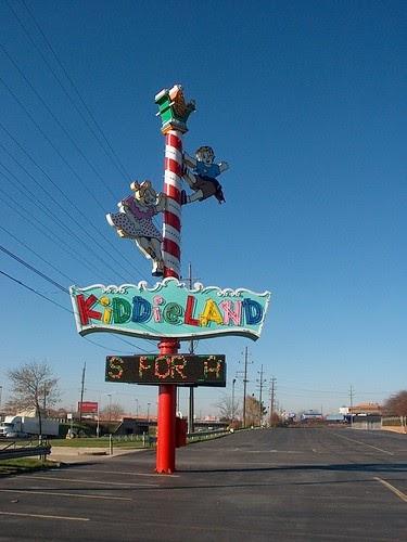 Eddie S Rail Fan Page Chicago S Kiddieland Amusement Park