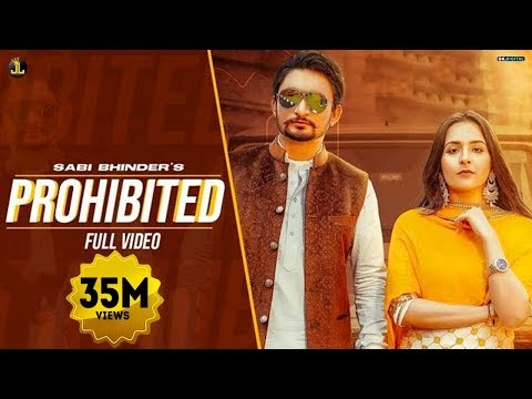 Prohibited Lyrics - Sabi Bhinder